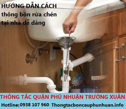 Cách thông tắc bồn rửa chén bị nghẹt tại nhà thực hiện dễ dàng mà có hiệu quả cao