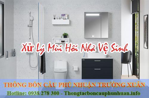 Xử lý mùi hôi quận Phú Nhuận giá 70k tặng viên khử mùi