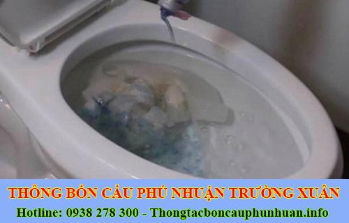 Thông bồn cầu tắc băng vệ sinh Quận Phú Nhuận 0938107960