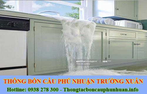 Thông bồn rửa chén bát trào ngược Quận Phú Nhuận 0938107960