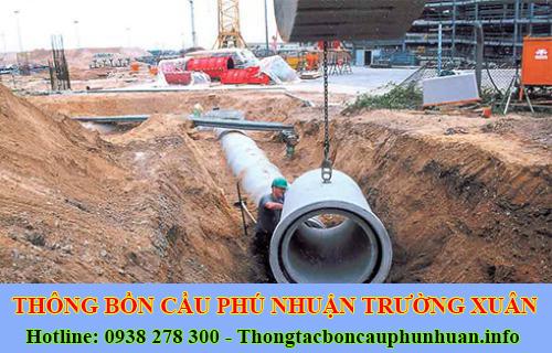 Dịch Vụ Đào Và Lắp Đặt Cống Thoát Nước Ở Quận Phú Nhuận