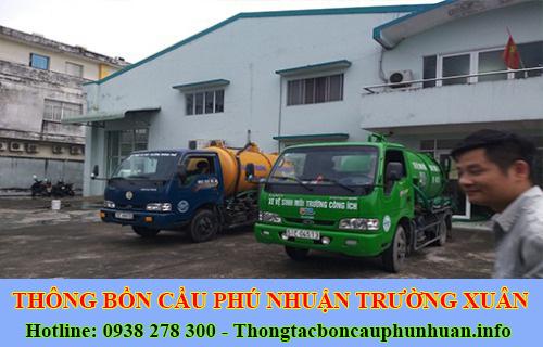 Hút bồn cầu Quận Phú Nhuận giá rẻ 0938107960 bảo hành 5năm