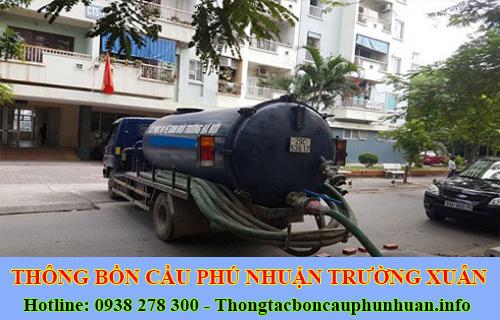 Hút hầm cầu quận Phú Nhuận bảo hành 2 năm giá 30%