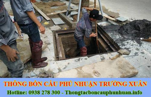 Dịch Vụ Hút Nạo Vét Hố Ga Quận Phú Nhuận Giá Rẻ 0938107960