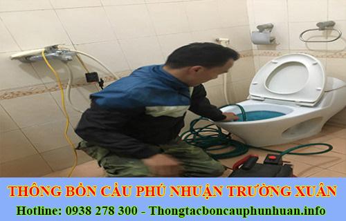 Trường Xuân Đơn vị sửa nghẹt bồn cầu Quận Phú Nhuận chất lượng.