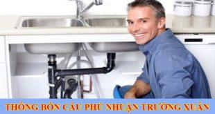 Thông bồn rửa chén quận Phú Nhuận Trường Xuân 0938107960