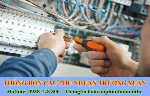 Thợ sửa chữa điện nước Quận Phú Nhuận tại nhà 0938107960