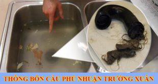 Thông bồn rửa mặt lavabo Quận Phú Nhuận Trường Xuân