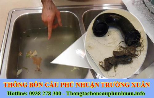 Thợ thông tắc bồn rửa mặt lavabo Quận Phú Nhuận 0938107960