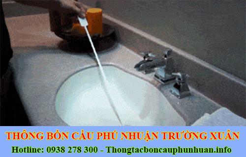 Thông tắc bồn chậu rửa chén bát Quận Phú Nhuận 0938107960