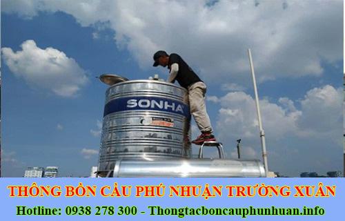 Bảng giá vệ sinh bồn nước tại Quận Phú Nhuận giá rẻ 0938107960