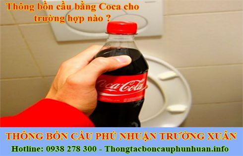 Thông bồn cầu bằng Coca thực hiện đơn giản hiệu quả