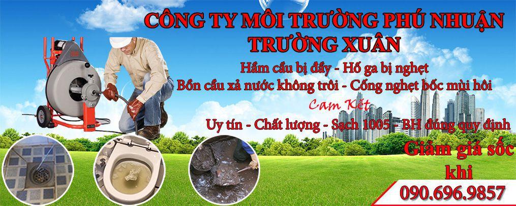 Thông Tắc Bồn Cầu Quận Phú Nhuận Trường Xuân 0906565854
